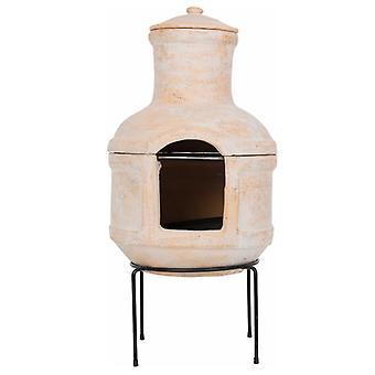RedFire cheminée de jardin Lima avec barbecue ton de couleur paille 86033