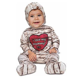 Déguisement combinaison momie bébé