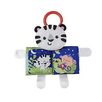 Cat Interesting Cloth Book With Sound Paper Teether Plush Baby Fabric Book