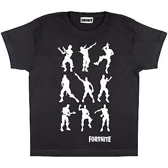 Fortnite Boys Dancing Emotes T-Shirt