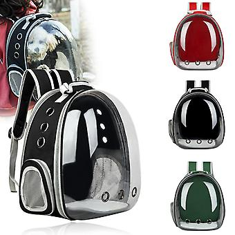 New expandabale Cat Bag Breathable Portable Pet Carrier Bag Outdoor Travel Backpack For Cat And Dog Transparent Space Pet Backpack