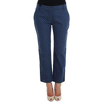Dolce & Gabbana Polka Prickade Stretch Capri Jeans