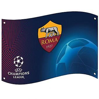 SOM Roma Champions League flagg