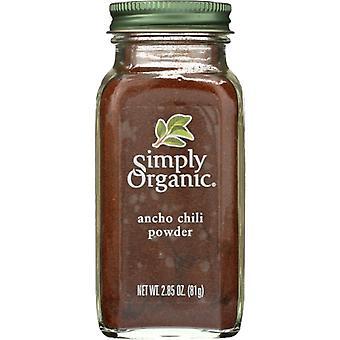 Simply Organic Powder Chili Anch Crt Org, Case of 6 X 2.85 Oz