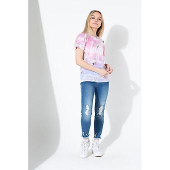 Hype tyttöjen yksisarvinen taivas T-paita
