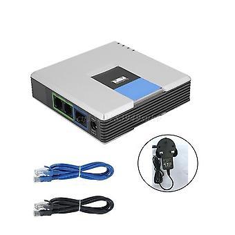 Adaptador de voz del teléfono con cable de red