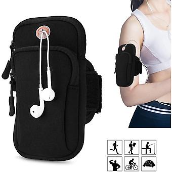 Running Armband Phone Holder Bag Strap For Outdoor Exercise Universal