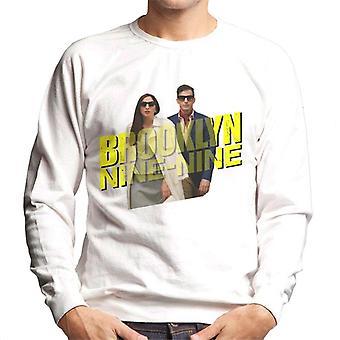 Brooklyn Ni-Ni Jake Og Gina Undercover Menn Sweatshirt