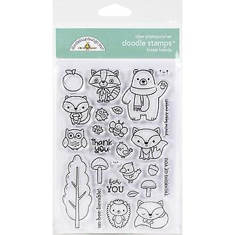 Doodlebug واضح خربش الطوابع -- أصدقاء الغابات