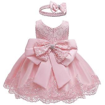 Hochzeit Party Prinzessin Spitze Kleid für Baby