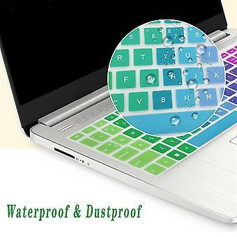 2Pcs toetsenbord beschermers laptop toetsenbord beschermende film geschikt voor hp