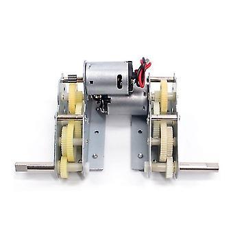 Rc Tank Parts Plastic Drive System Gear Box