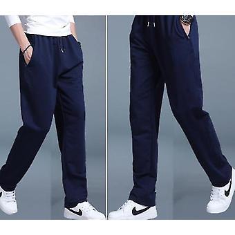Cotton Casual Sweatpants Loose Velvet Trousers Joggers Pants