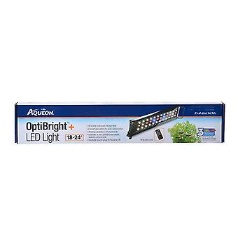 """Aqueon OptiBright Plus LED Aquarium Light Fixture - 18""""-24"""" Fixture"""