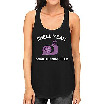 Shell Yeah Tank Top Work Out Sleeveless Shirt Funny Gym Shirt