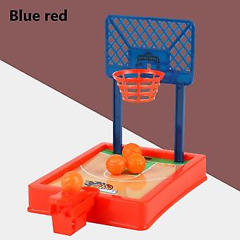 Mini Basketball Sport 2 Player Game Hoop Shooting Stand Toy Educational For Children Finger Basketball Shooting Family Game Toy Green Blue And Red