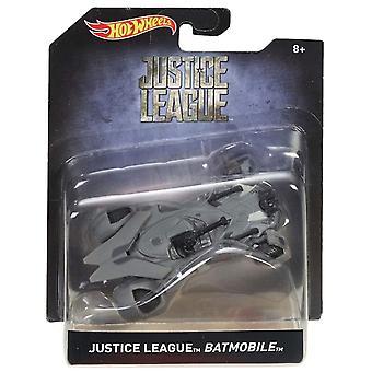 Video game consoles hot wheels batmobile justice league batmobile 1:50