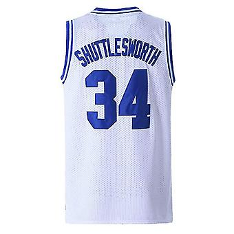 Jesus Shuttlesworth Shirts 34# Lincoln High School Basketball Jersey