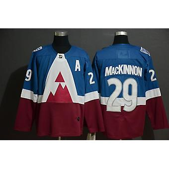 Men's Hockey Jerseys Predators #29 #92 #96 #8 Colorado Avalanche Jersey Movie Ice Hockey Jersey 90s Hip Hop Clothing For Party Stitched Letters S-3xl