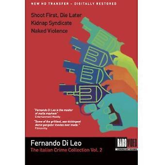 Fernando Di Leo Crime Collection [DVD] USA import