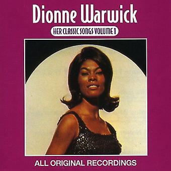 Dionne Warwick - Dionne Warwick: Vol. 1-Her Classic Songs [CD] USA import