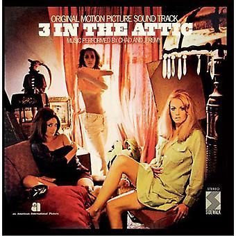 3 in the Attic - 3 in the Attic [Original Motion Picture Soundtrack] [CD] USA import