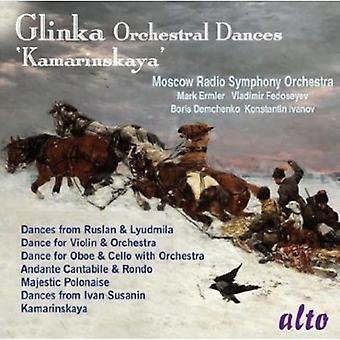Moscow Radio Symphony Orchestra - Glinka: Orchestral Dances; 'Kamarinskaya' [CD] USA import