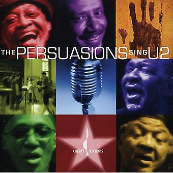 Persuasions - Sing U2 [CD] USA import