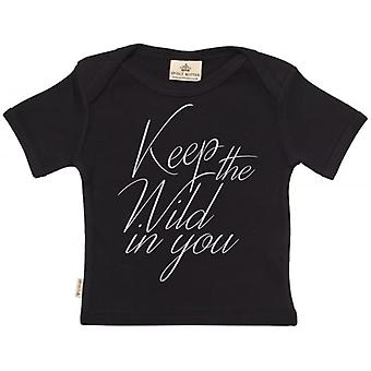 Spoilt Rotten Keep The Wild In You Short Sleeve Baby T-Shirt