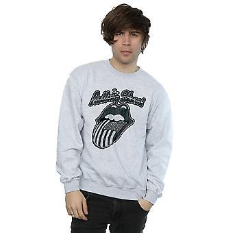 Rolling Stones Men's Monochrome American Tongue Sweatshirt