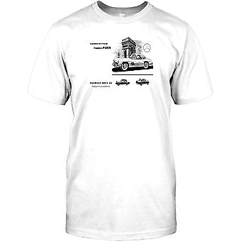Mercedes Daimler Benz-klassisk bil barn T shirt