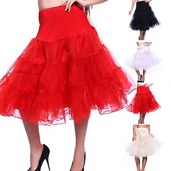 "27 ""retro underfusta 50 Swing Vintage jupon rockabilly tutu Fancy net fusta"