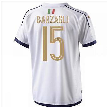 2006 Italien Tribut Auswärtstrikot (Barzagli 15)