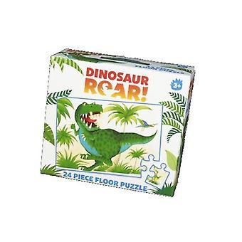 هدير ديناصور! لغز الكلمة 24 قطعة
