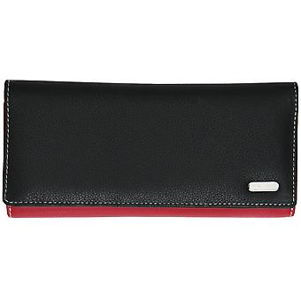 Felda RFID Genuine Leather Ladies Long Coin & 23 Card Purse Wallet