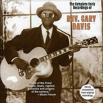 Rev. Gary Davis - Rev. Gary Davis: Complete Early Recordings [CD] USA import