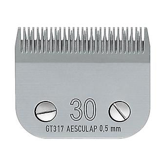 Aesculap Pet Grooming A5 Clipper Blade - No. 30 Blade GT317 do 0,5 mm włosów