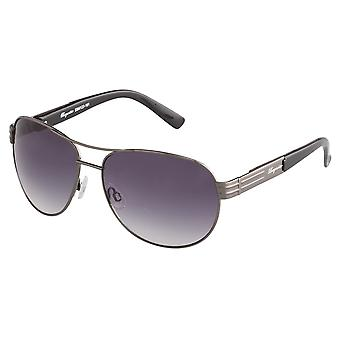 Classic sunglasses for men by Burgmeister with 100% UV protection | sturdy metal frame, high quality sunglasses case, microfiber glasses pouch and 2 year warranty | SBM122-181 Melbourne
