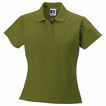 Russell Collection Ladies Ultimate Classic Cotton Short Sleeve Polo Shirt