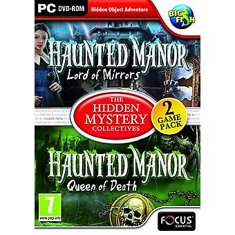 The Hidden Mystery Collectives Haunted Manor 1 et 2 (PC DVD) - Nouveau