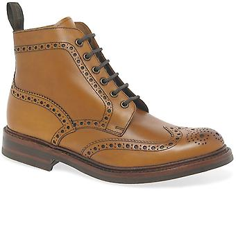 Loake Bedale Men's Lace Up Brogue Boots