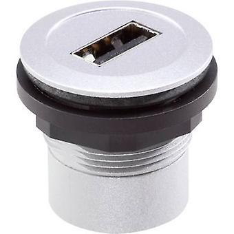 Schlegel RRJ_USB_AB Socket, built-in
