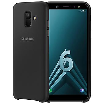 Offisiell Samsung tolags cover, bakre omslaget for Samsung Galaxy A6 - svart