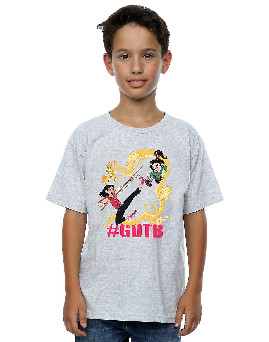 Disney Boys Wreck It Ralph Mulan And Vanellope T-Shirt