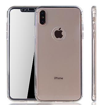أبل iPhone XS ماكس حالة حالة الهاتف غطاء واقية حالة كاملة غلاف درع احباط