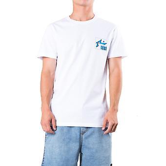 Rusty Del Mar Short Sleeve T-Shirt in White