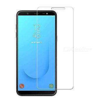 Samsung Galaxy J6 herdet glassskjermbeskytter detaljhandel