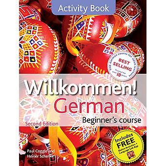 Curso de alemão Willkommen de principiante - livro de atividade (2ª edição revisada editi