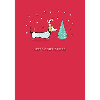 Artfile Frank Sausage Dog Christmas Cards | Gifts From Handpicked