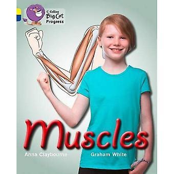 Collins Big Cat Progress - Muscles: Jaune/saphir